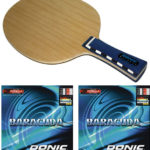 Donic Waldner Exclusive Ar + 2 Donic Baracuda-256